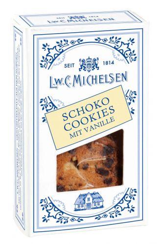 Mini Landhaus Schoko-Cookies mit Vanille