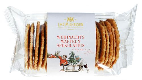Weihnachts Zuckerbäcker-Waffeln mit Spekulatiusgewürzen