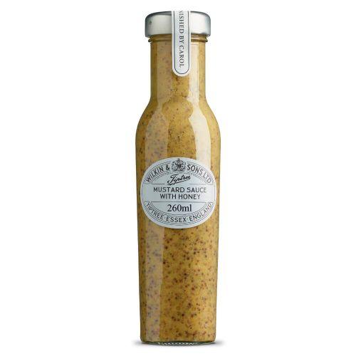 W&S Sauce Mustard with Honey 260ml Flasche