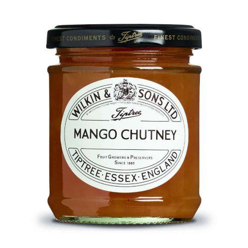 W&S Chut. Mango Chutney 220g Glas