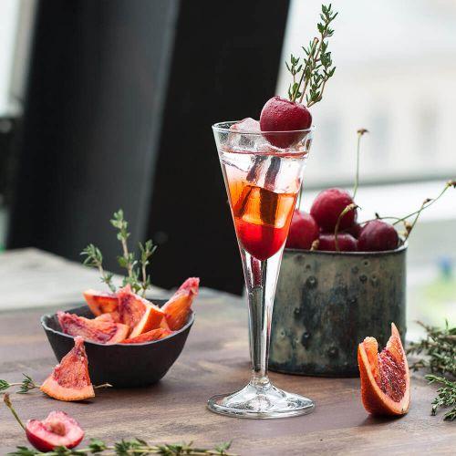 Weihnachts Gin-Likör mit Blattsilber